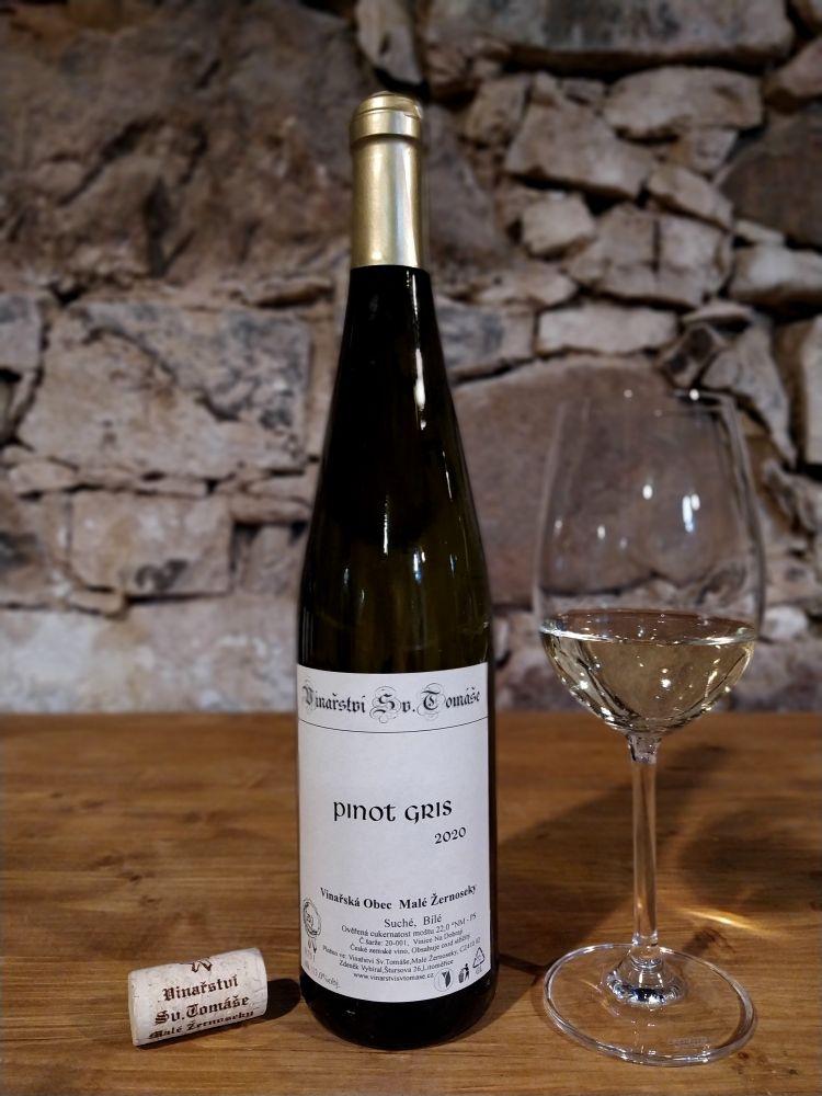 Pinot Gris 2020 suché