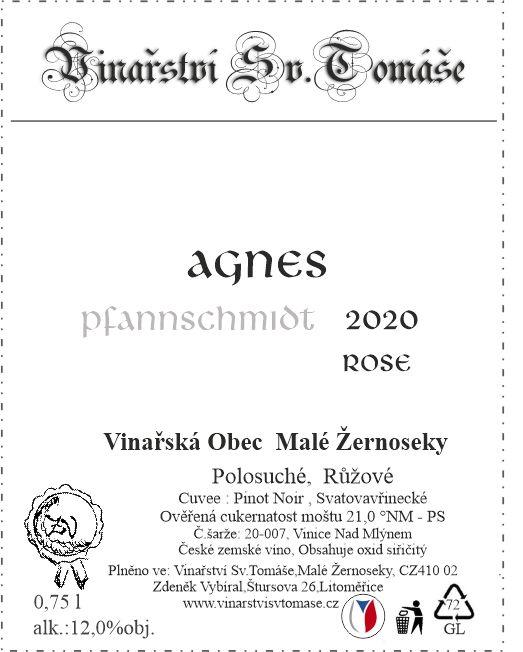 Agnes Rose 2020 polosuché